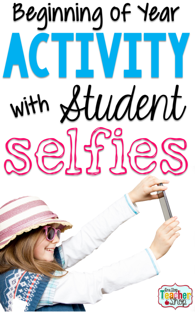 This back to school activity is a favorite of my students. Back to school selfies promote getting to know each other and reading skills. Grab the free download while your reading.