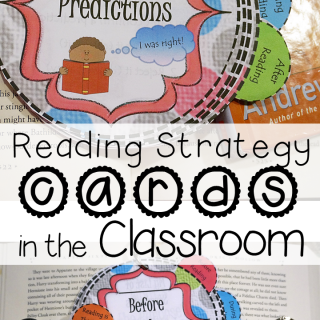 Using Reading Strategy Cards in the Classroom