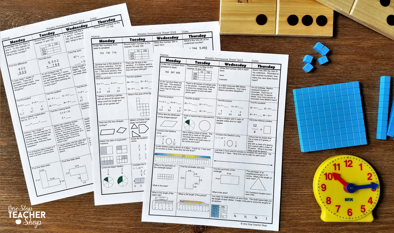 Spiral math homework is by far the most effective homework system I have ever used. Get tips and ideas for implementing spiral homework in your classroom, and read about the benefits I've seen in my classroom. (Number 4 has been a HUGE game changer)