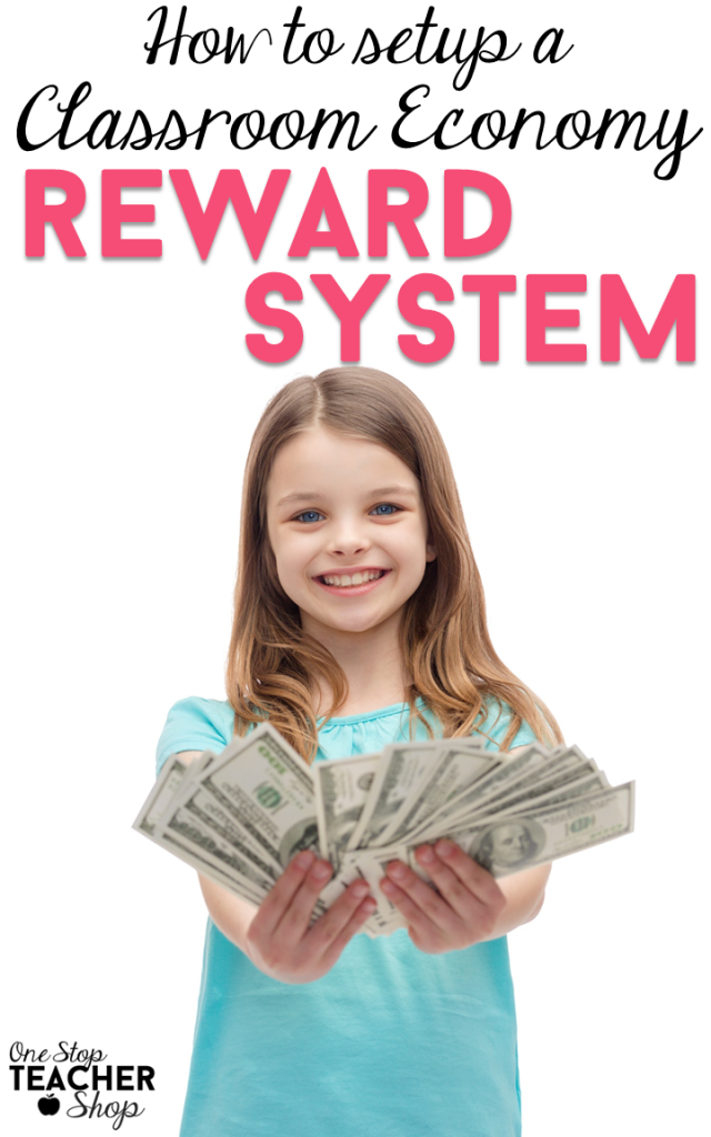 A Classroom Economy Reward System can help with classroom management and behavior management. See how I use an economy system to motivate my students. (Grab the free student checkbook)