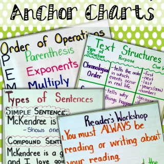 My Not-So-Pinteresty Anchor Charts