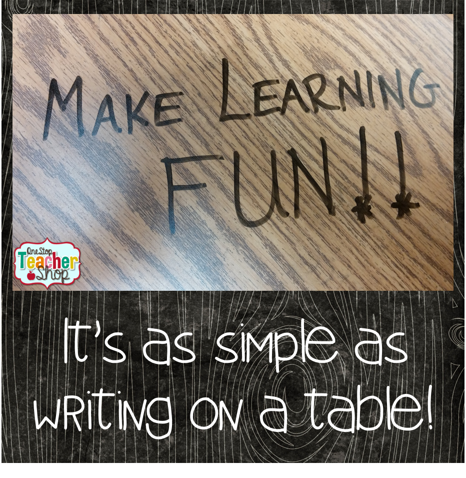 Make learning fun every day! Here are some tips of teachers on making learning fun during math centers or literacy centers.