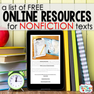 Free Online Resources for Nonfiction Reading for Kids