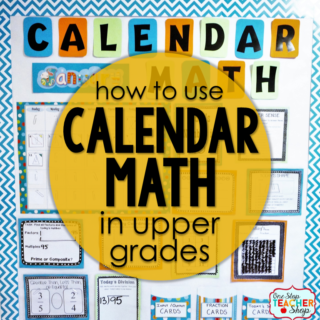 Calendar Math in the Classroom
