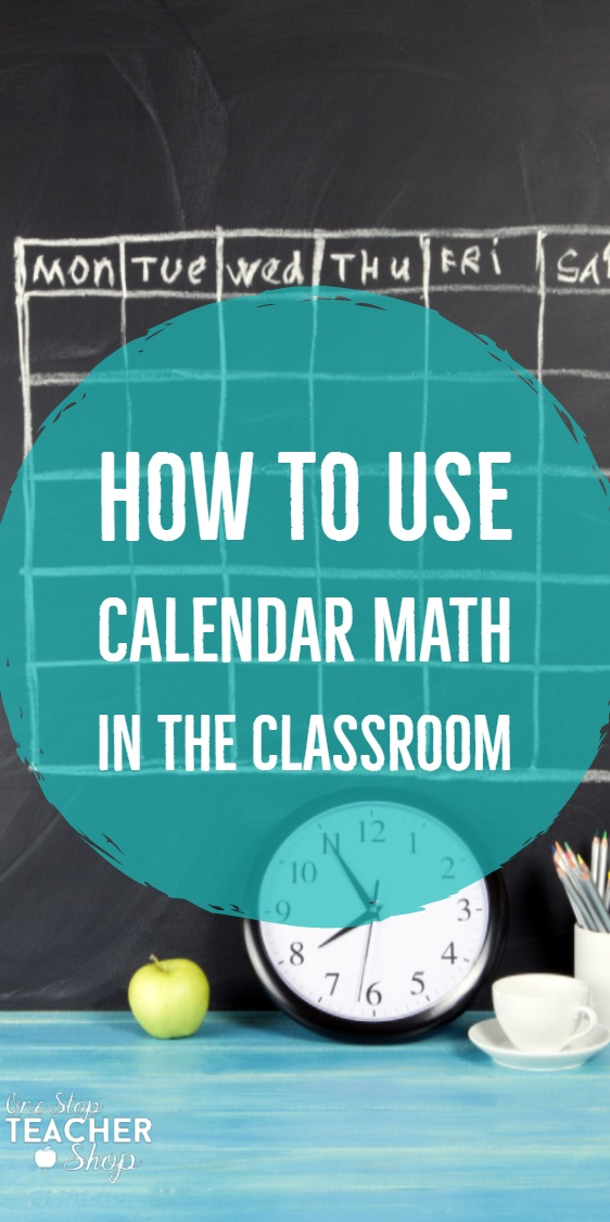 Calendar math is the perfect review math center. See how I use it in my 5th grade classroom, and how calendar math helps my students review everything they learn!
