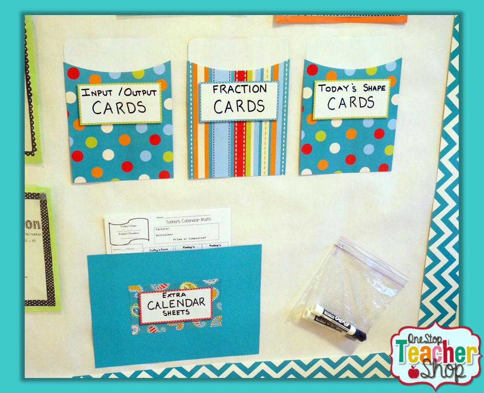 Calendar Math in the Classroom - One Stop Teacher Shop