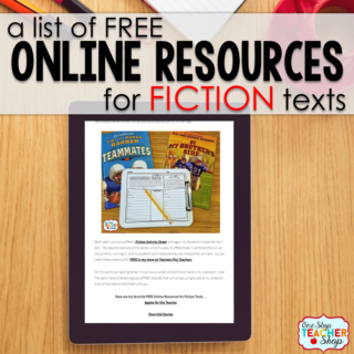 FREE Online Resources for Fiction Reading for Kids