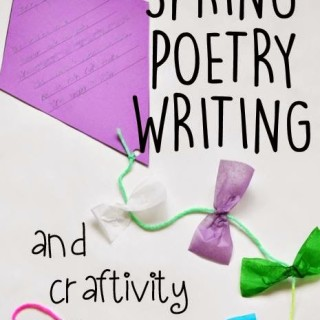 Spring Poetry Writing and Craftivity