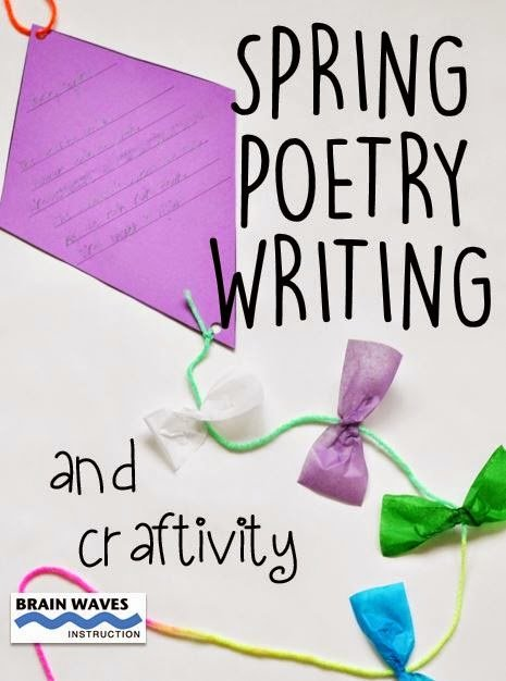 Find out how to complete this super simple spring poetry writing craftivity with your students...FREE! Just follow these step-by-step directions. They are going to love it!