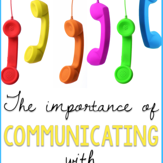 The Importance of Communicating with Parents