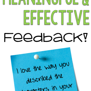 How to Give Effective and Meaningful Feedback
