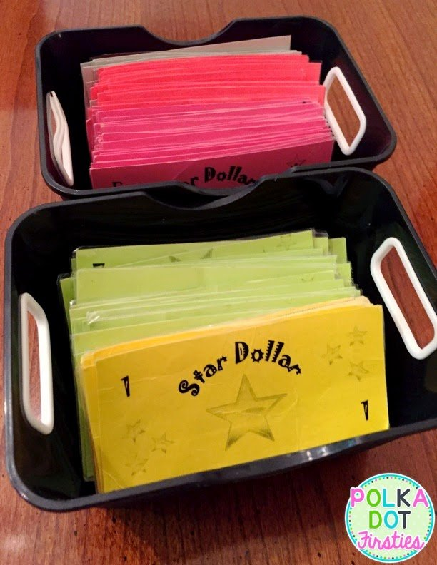 Read about how to use Star Dollars as a classroom management tool for your classroom. FREEBIE included!!! By Liz from Polka Dot Firsties