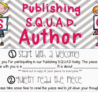 Publishing S.Q.U.A.D.S – A Peer Revising Activity