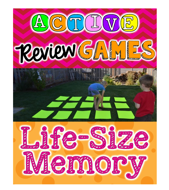 Lots of amazing math, reading, and grammar games that will get your kids moving and learning. Love number 2!