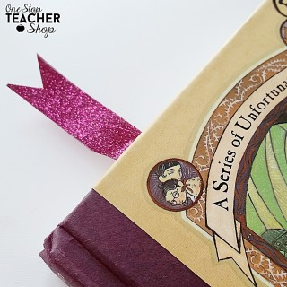 Back to School Washi Tape Bookmarks