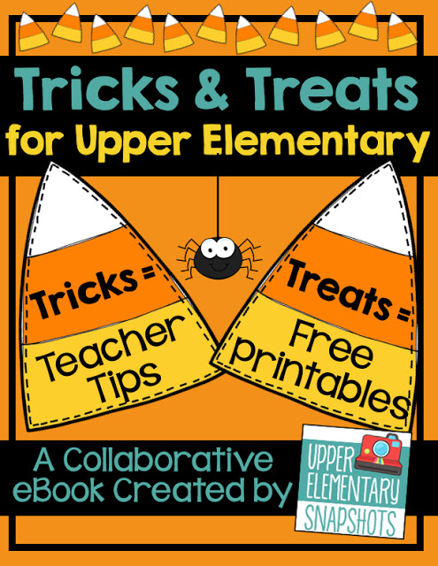 Halloween and Fall can be fun in the classroom with this ebook. It is full of math center games, language arts ideas, and tips for the classroom. 12 free downloads included!
