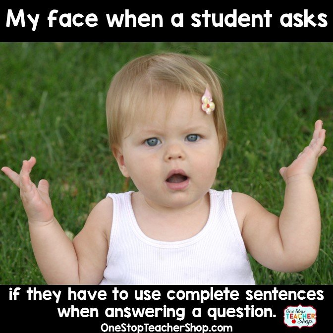 Funny Quotes About School Tests: One Stop Teacher Shop
