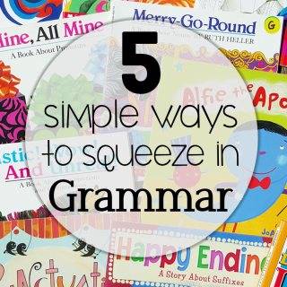 Grammar: 5 Simple Ways to Squeeze it in Daily
