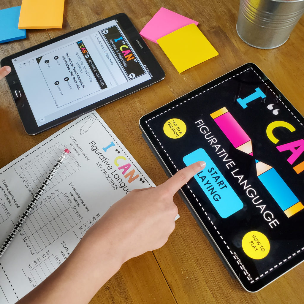 Digital Grammar Games are the perfect way to make grammar practice interactive and fun! Perfect for Google Classroom, distance learning, or to use with any classroom technology! I love using these common core aligned I CAN Grammar Games for whole group review, literacy centers, grammar review, and independent practice. For 1st, 2nd, 3rd, 4th, 5th, & 6th Grade!