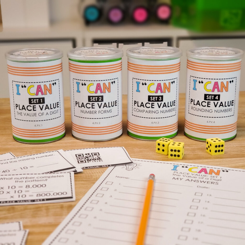 I CAN Mini Math Games break down math standards into fun-sized pieces for students. These math centers were created to provide students with repeated practice on specific skills so that mastery can be obtained. Help students EXACTLY where they are!